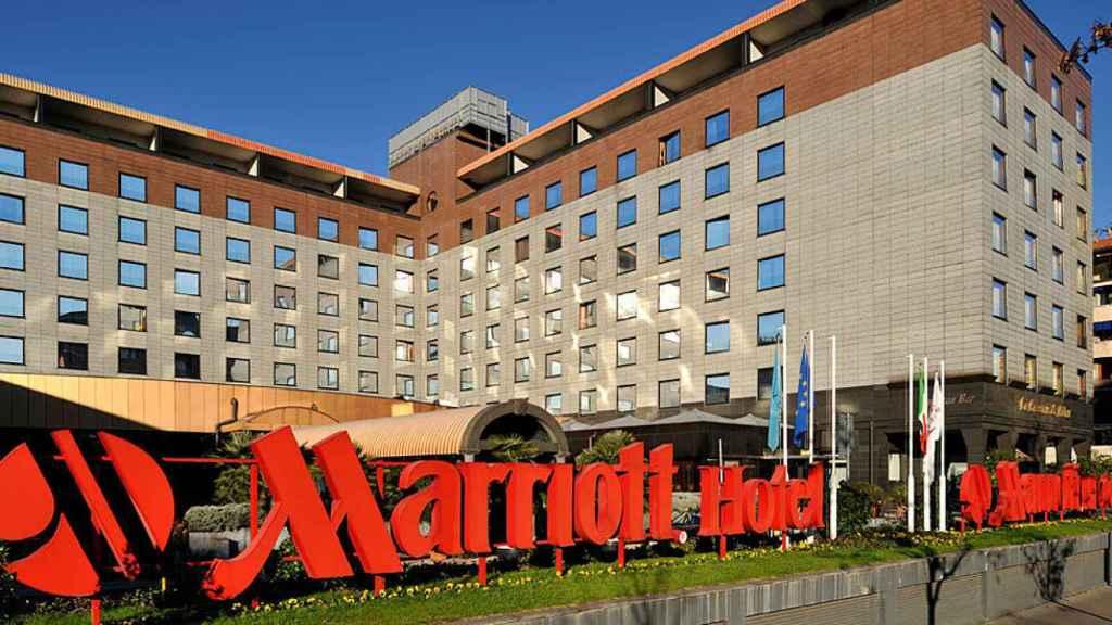 La cadena hotelera Marriott posee negocios en más de 70 países.