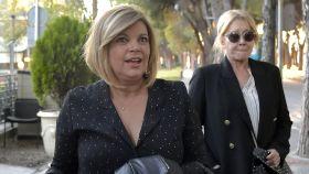 Terelu Campos junto a Mila Ximénez, en una imagen de archivo.