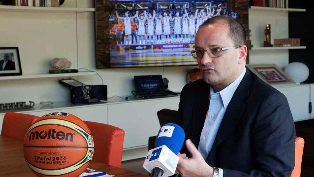 Patrick Baumann, secretario general de la FIBA.