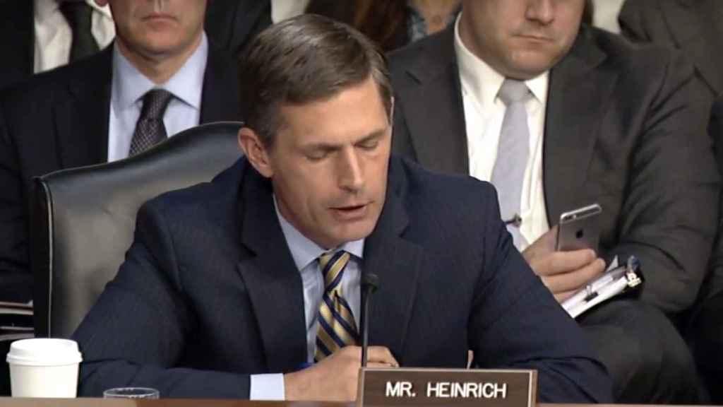 El congresista demócrata Martin Heinrich.