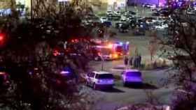 Exterior del Walmart donde sucedió el tiroteo.