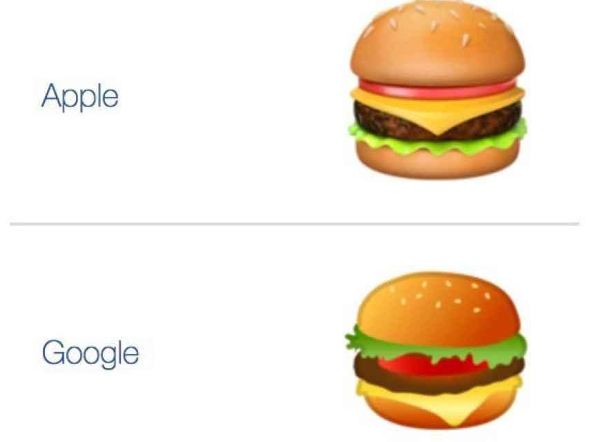 Los polémicos emojis de Google y Apple.