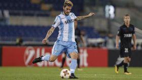 Luis Alberto, durante un partido con la Lazio.