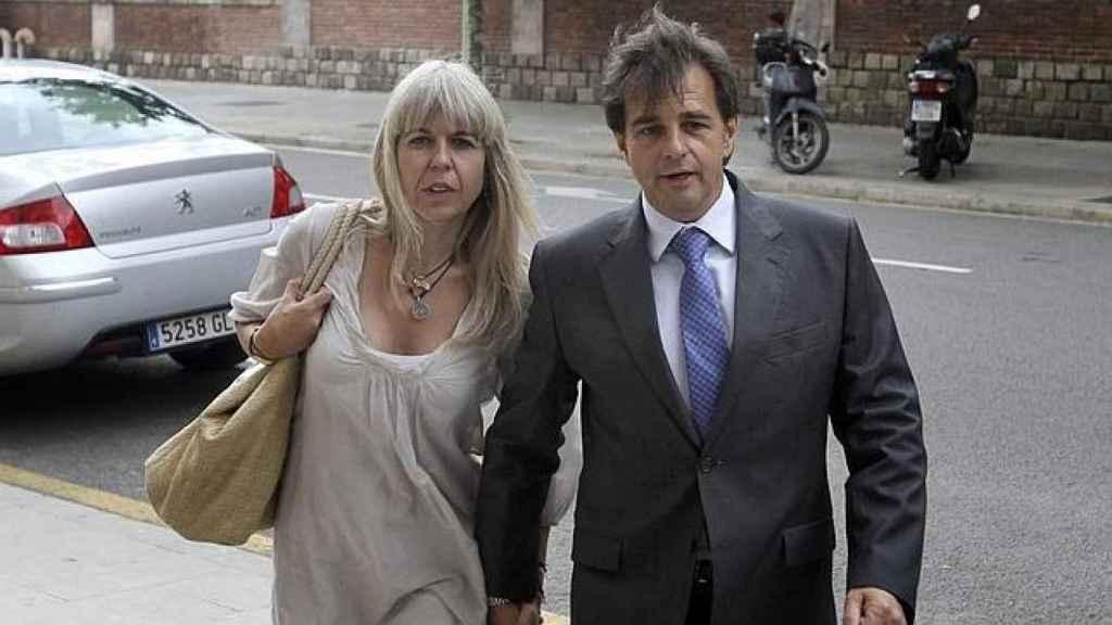 Alba Tous y su marido, Lluís Corominas.