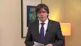 Puigdemont emite un mensaje exigiendo la libertad de los miembros del Govern.