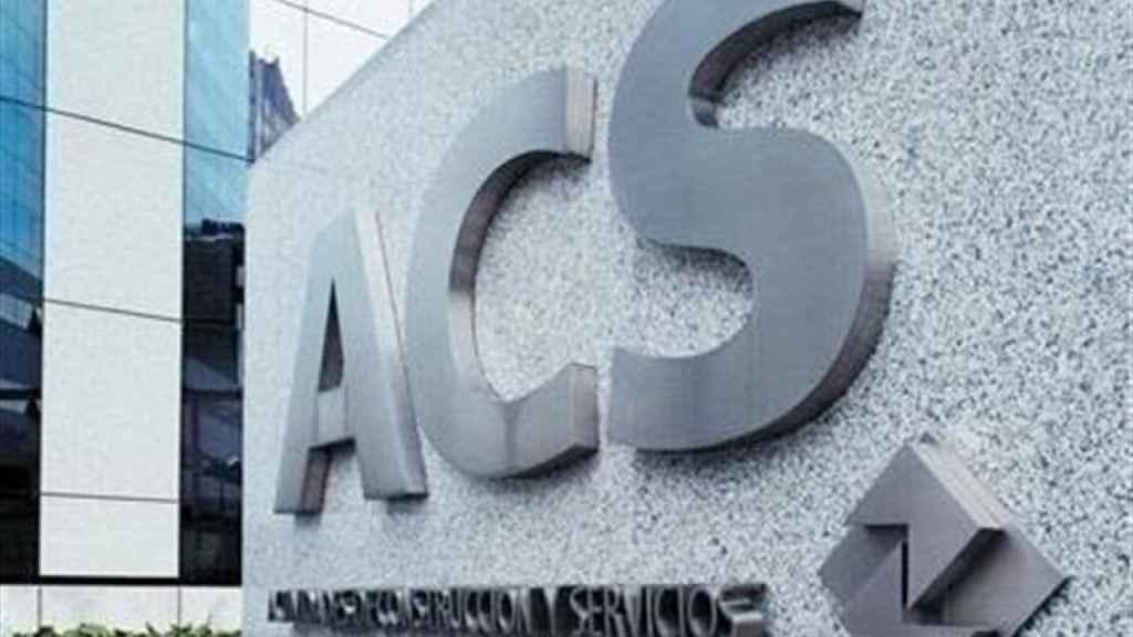 Sede de ACS, en una imagen de archivo.