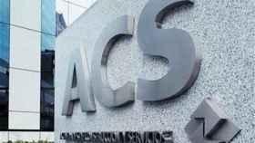 Logo de ACS, en una imagen de archivo.