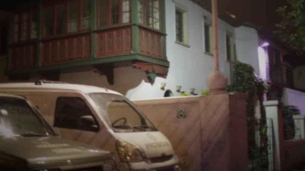 La casa en cuestión de Bogotá.