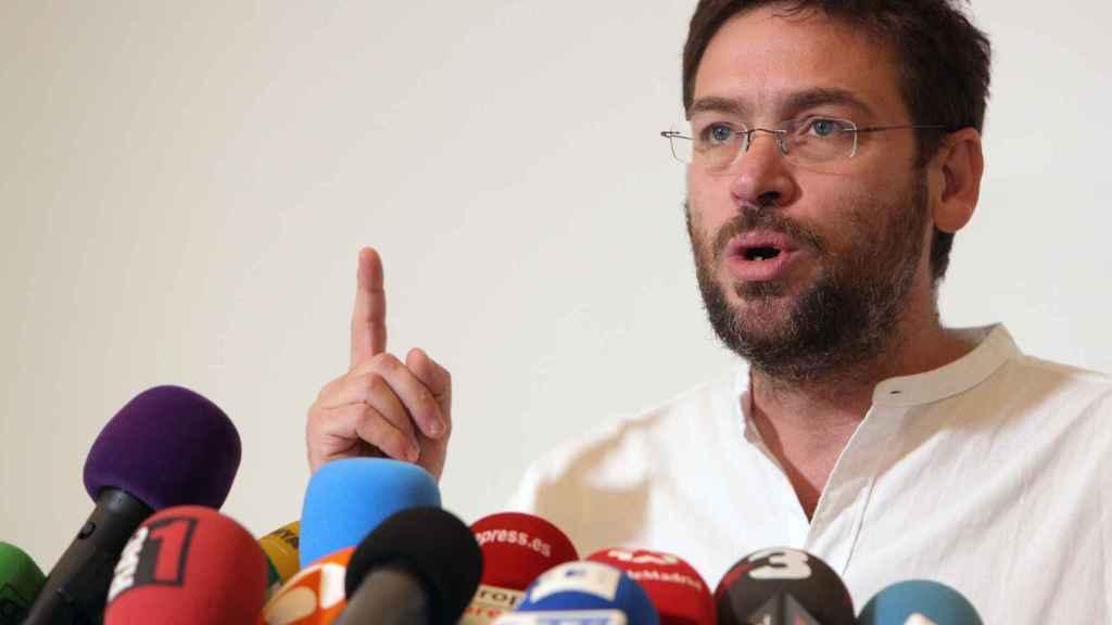 El secretario general de Podem, Albano Dante Fachin.