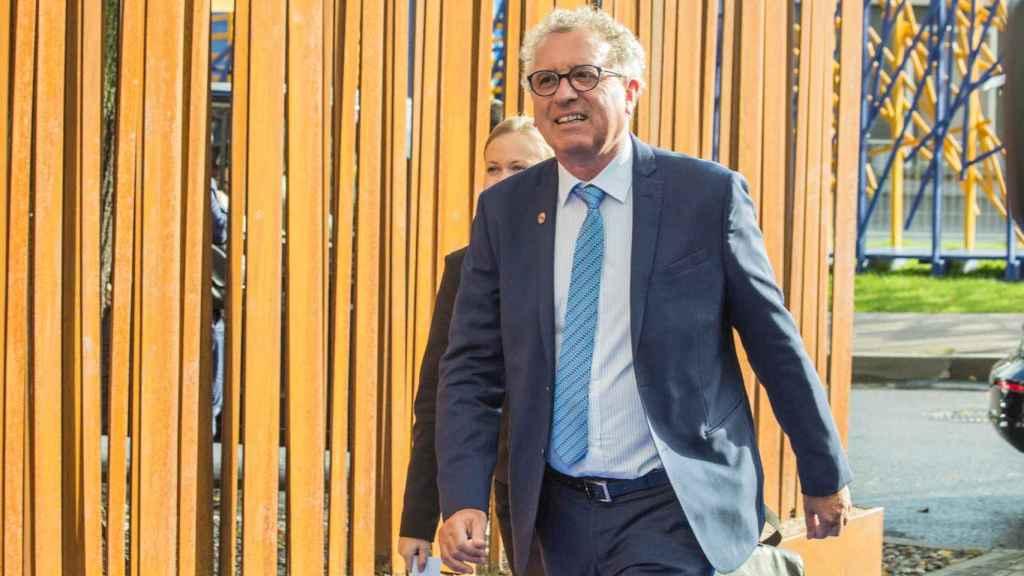 El ministro luxemburgués, Pierre Gramegna
