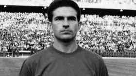 Feliciano Rivilla en una imagen de archivo de la Eurocopa de 1964.