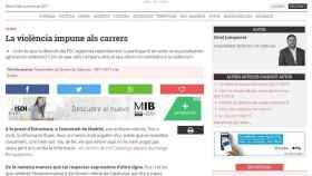 Imagen del artículo de Junqueras publicado en el 'Nació Digital'.