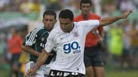Ronaldo Nazario durante su etapa en el Corinthians. Foto: corinthians.com.br