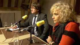 Carles Puigdemont, en la entrevista de 'Catalunya Ràdio'.