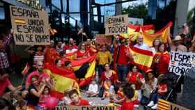 En el últimos se han registrado centenares de manifestaciones a favor de la unidad de España.