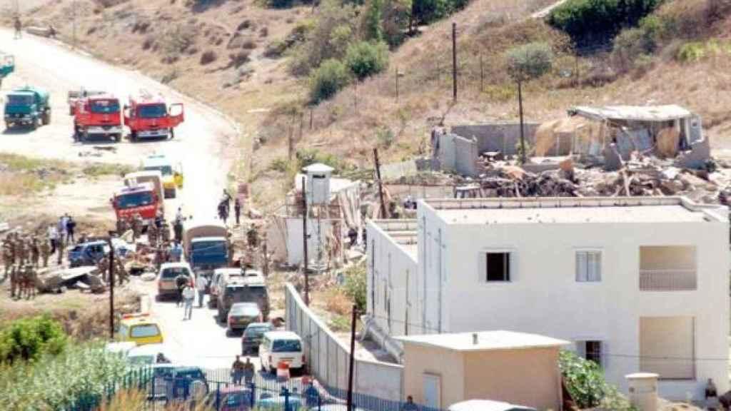 Imagen de otro atentado en Cabilia a principios de 2017.