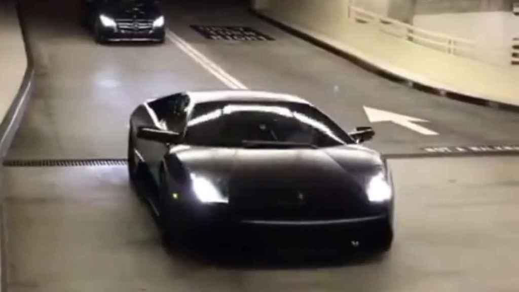 Un Lamborghini metafórico.