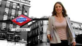 Irene Montero cambia Rivas Vaciamadrid por Lavapiés
