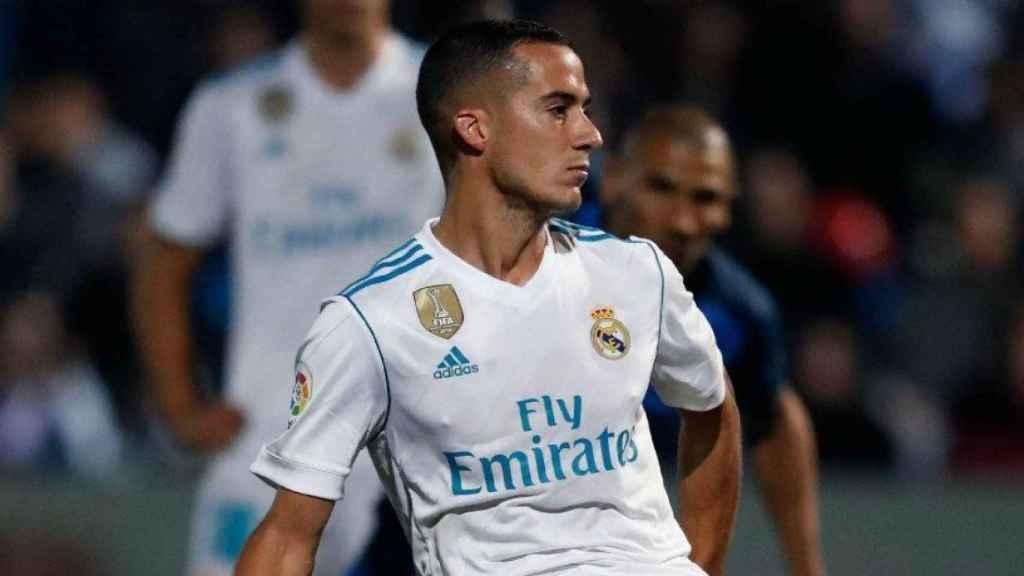 Lucas Vázquez en el Fernando Torres