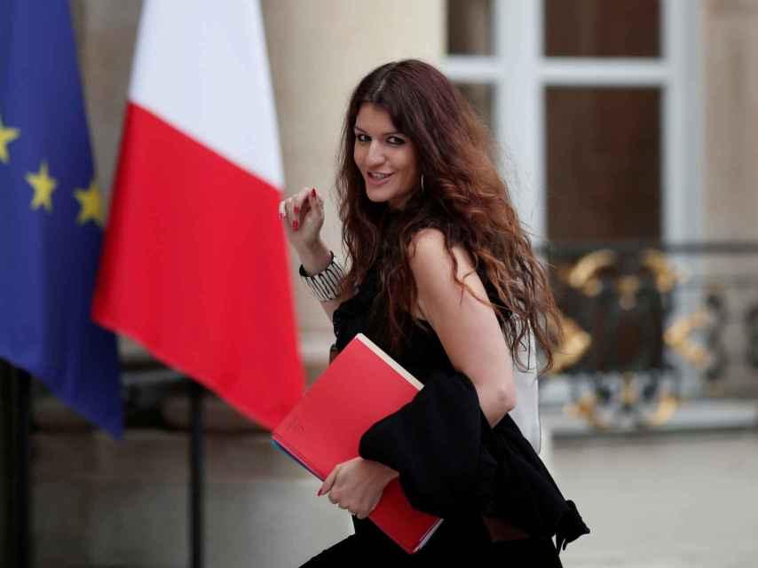 Marlène Schiappa, en una imagen de archivo en el Elíseo.