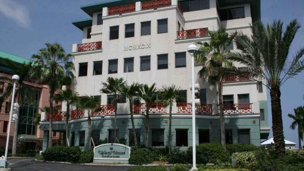 Ugland House, sede de más de 20.000 sociedades en George Town, capital de las Islas Caimán.