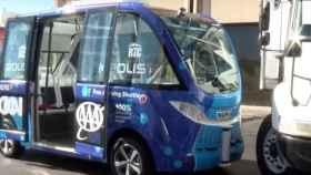 autobus autonomo se estrella con un camion
