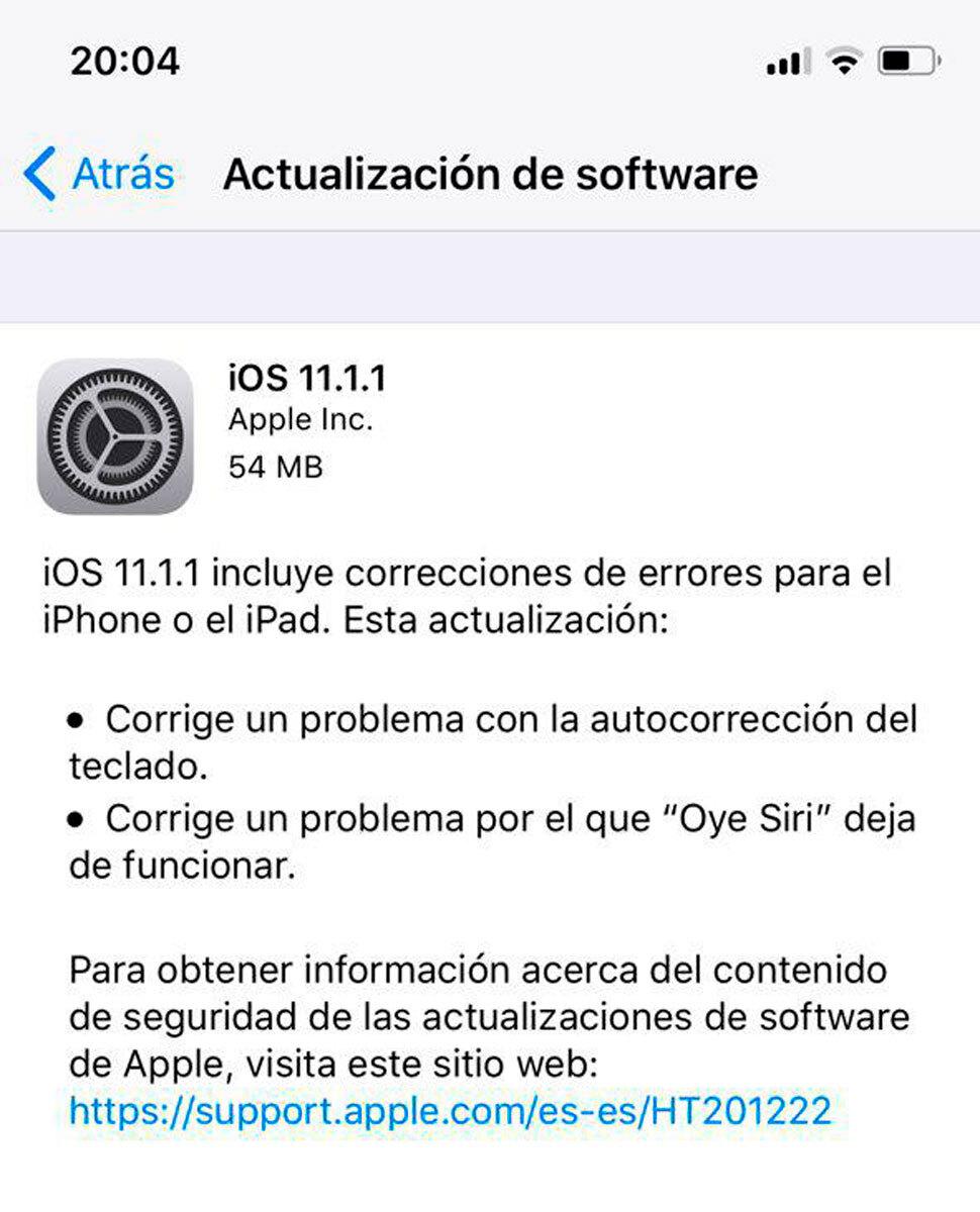 actualizacion-ios-11.1.1-apple