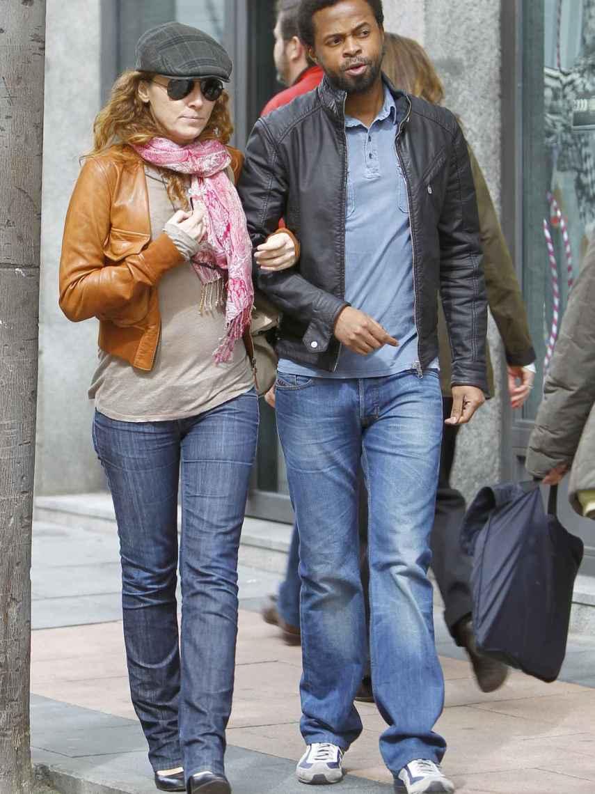 Sonsoles y Paulo, por las calles de Madrid hace 4 años.