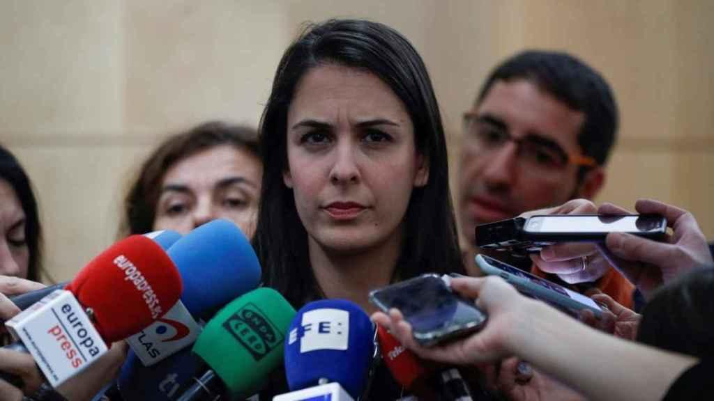 Rita Maestre ha calificado la decisión de Montoro de trato injusto.