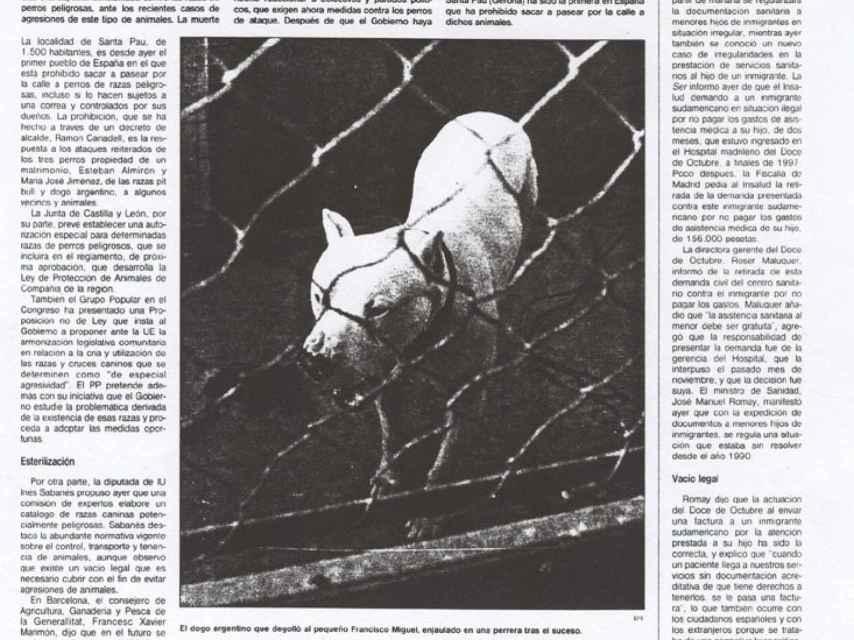 El diario de Córdoba se hacía eco del suceso.