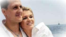 Michael Schumacher junto a su mujer, Corinna.
