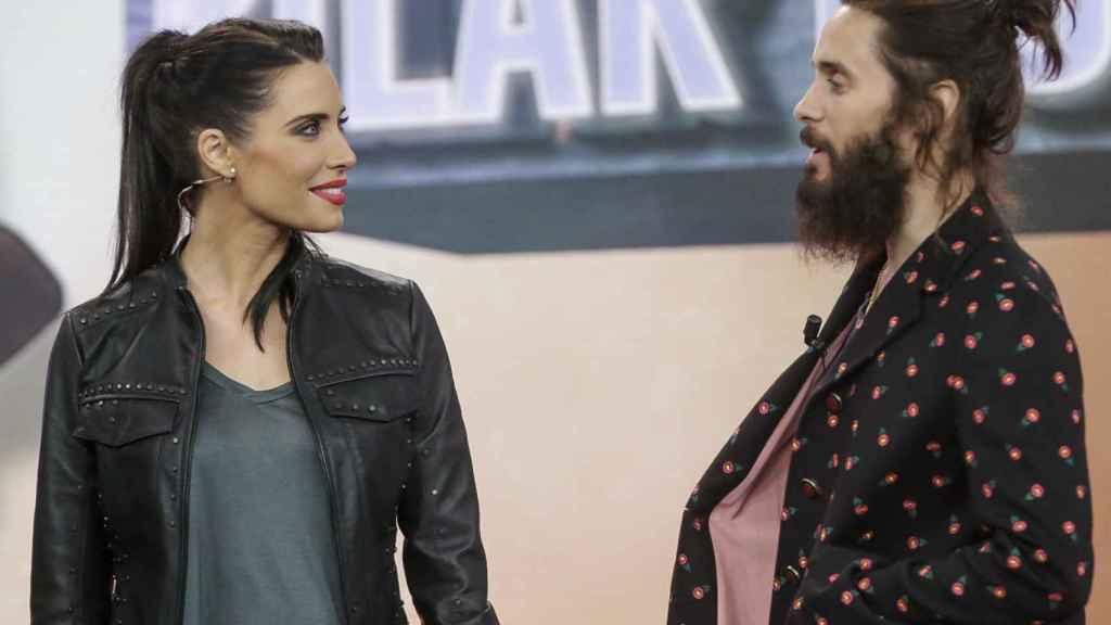 Pilar Rubio y Jared Leto.