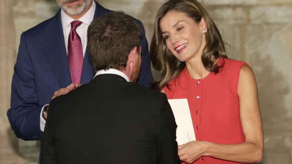Felipe VI, Letizia y Pablo Motos.