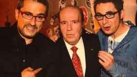 Buenafuente, Chiquito y Berto.