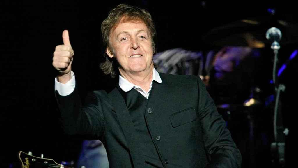 Paul McCartney. EFE.