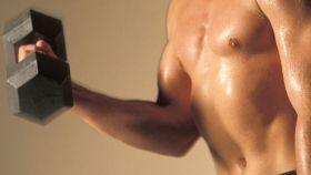 Ejercicio de musculación.