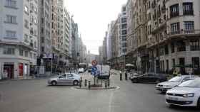El Ayuntamiento de Madrid limita el tráfico en Gran Vía desde 1 de diciembre