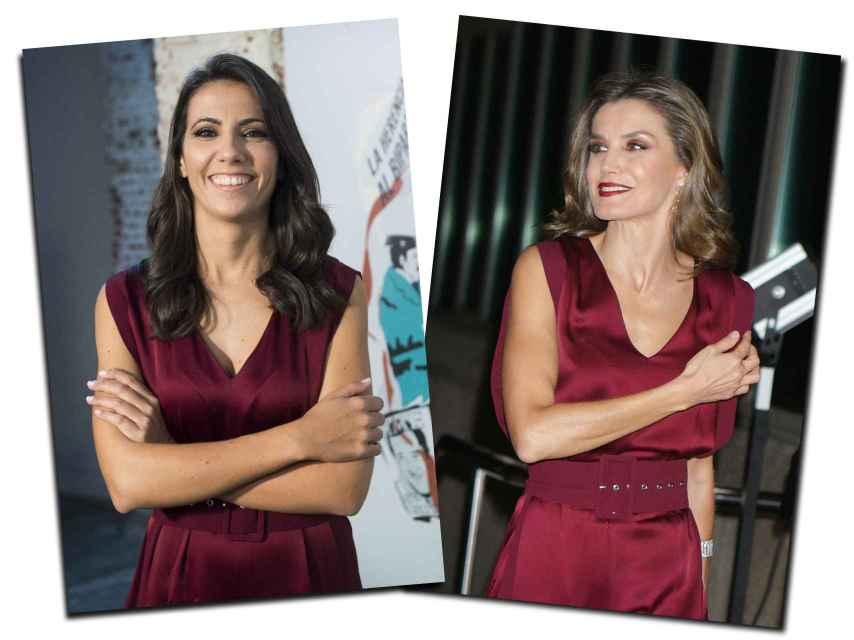 Ana Pastor y Letizia.