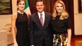 Letiziz, Enrique Peña Nieto y Angélica Rivera.