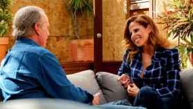 Pastora Soler junto a Bertín Osborne en 'Mi casa es la tuya'