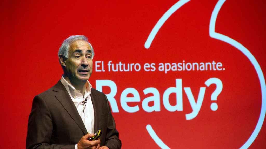 Antonio Coimbra, CEO de Vodafone España, en una imagen de archivo.