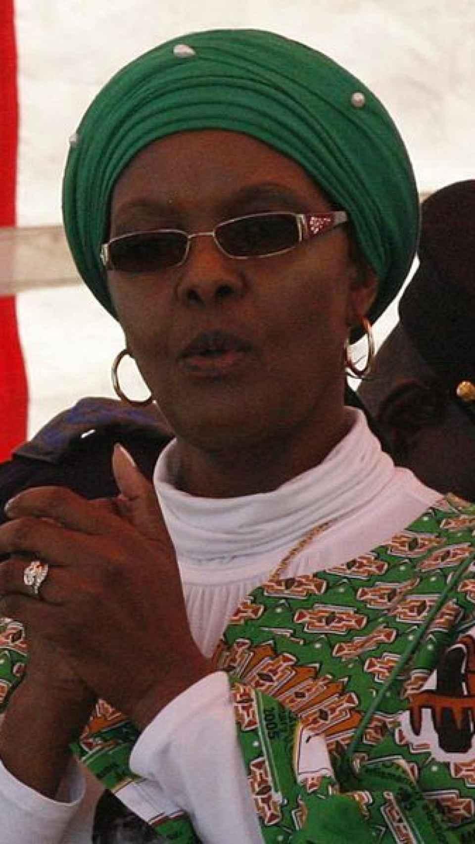 Grace Mugabe, en una imagen de archivo.