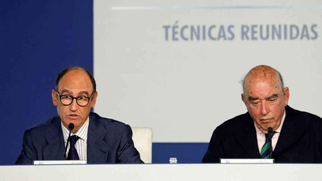 Juan Lladó y José Lladó, consejero delegado y presidente de Técnicas Reunidas, respectivamente.