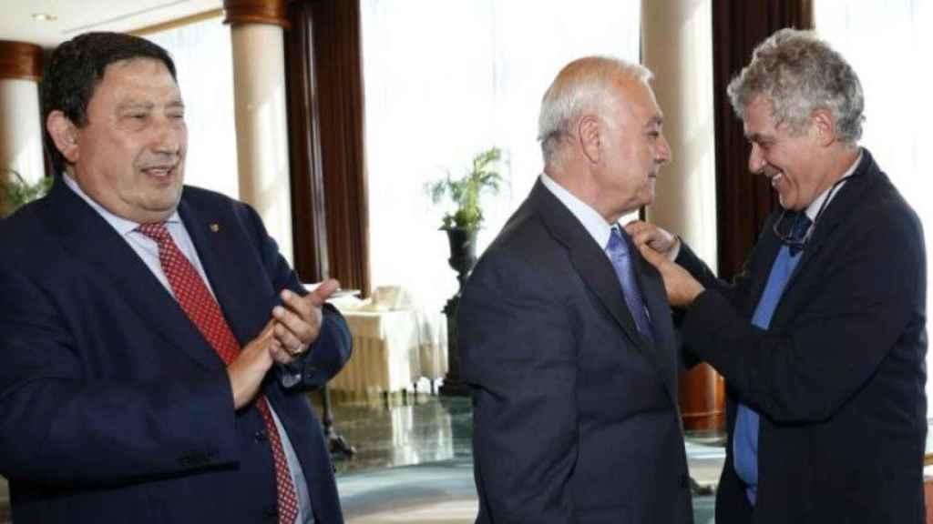 Sánchez Arminio y Villar. Foto: rfef.es