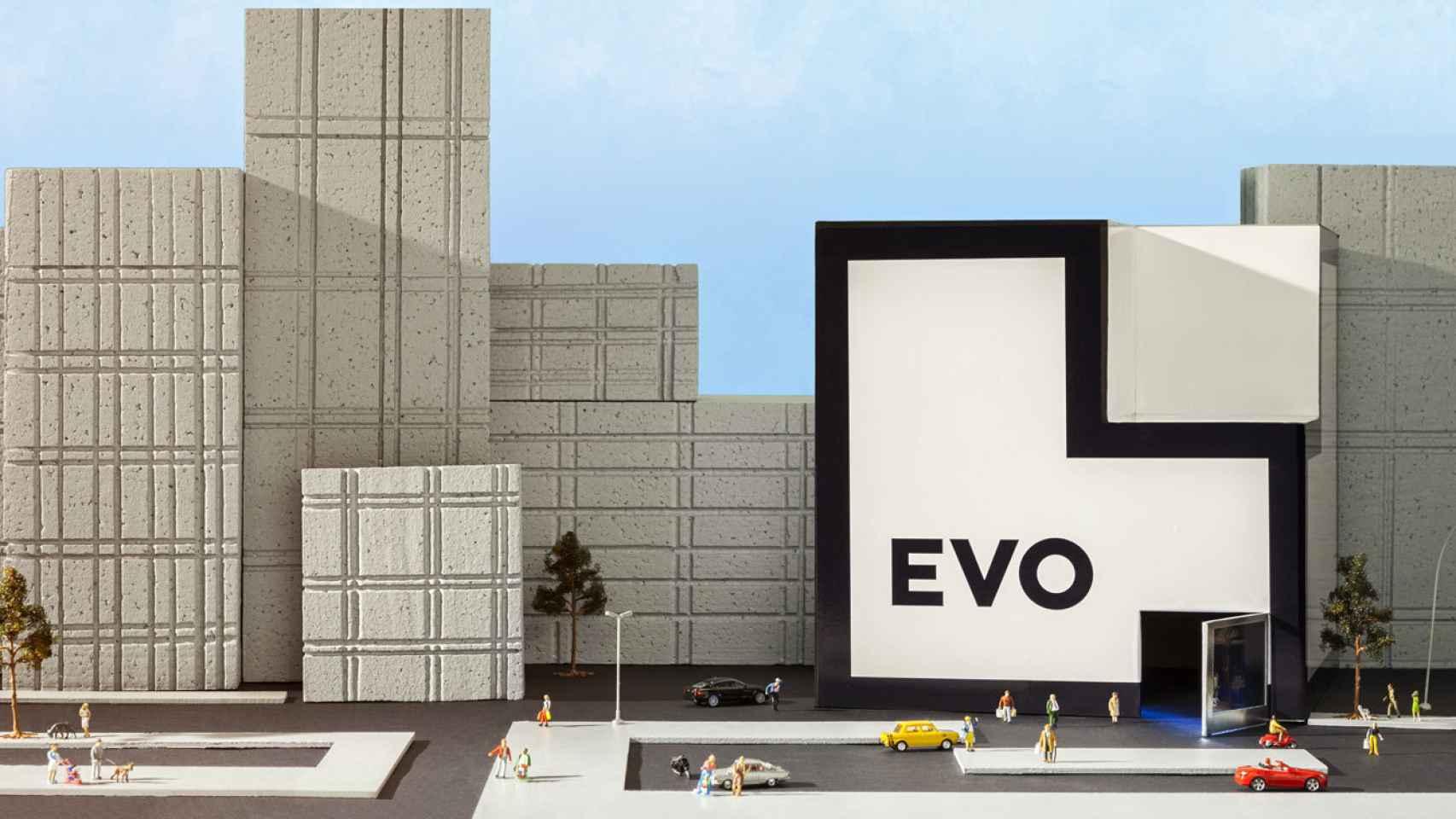 Imagen comercial de Evo Banco.