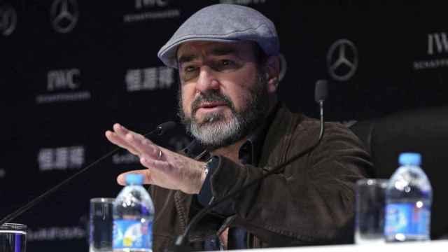 Eric Cantona en una imagen de archivo.