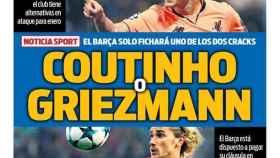 Portada Sport (16/11/17)