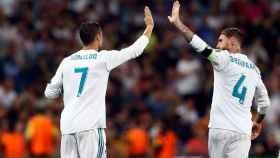 Cristiano y Ramos, los dos goleadores ante el APOEL