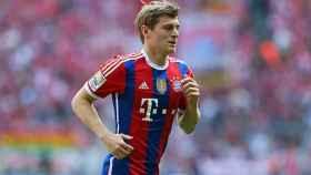 Kroos con el Bayern Múnich.   Foto: fcbayern.com