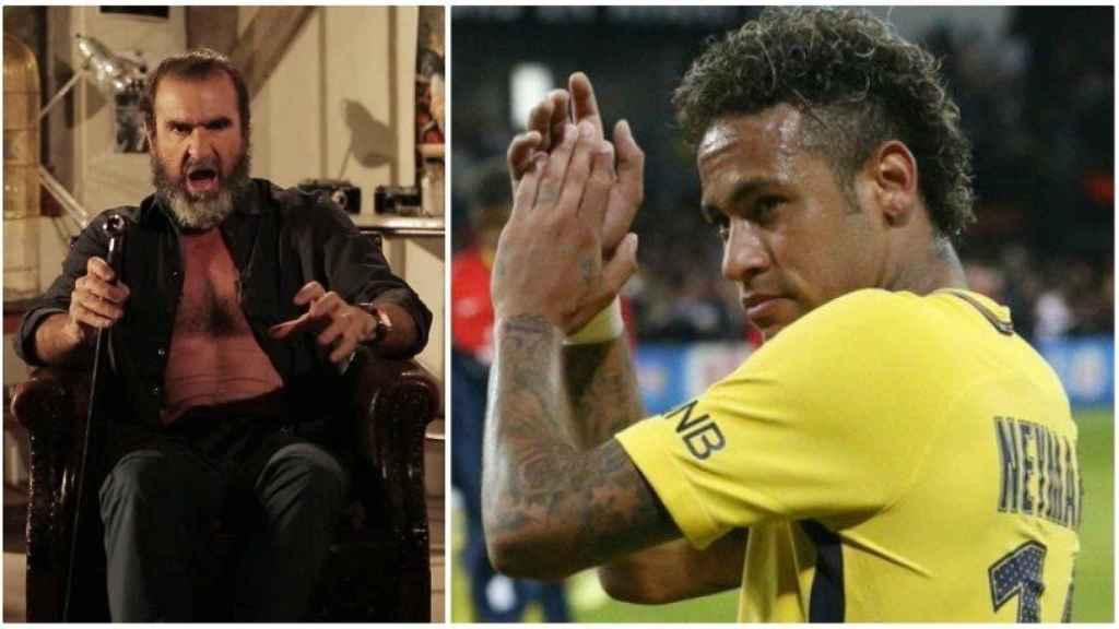 Cantona, contra Neymar